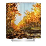 Quiet Time Shower Curtain by Rick Furmanek