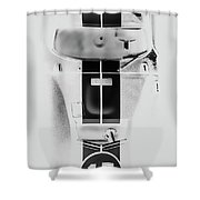 Racing Stripes Shower Curtain