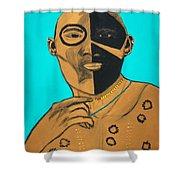 Radiant Warrior  Shower Curtain