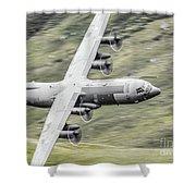 Raf C-130 Hercules 1 Shower Curtain