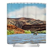 Rafting On The San Juan River Shower Curtain