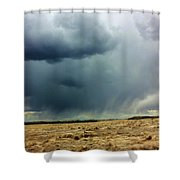 Rain Down On Parched Fields  Shower Curtain