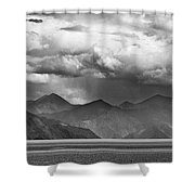 Rains In China Shower Curtain by Whitney Goodey