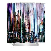 Rainy Street Shower Curtain