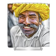 Rajput High School Teacher Shower Curtain