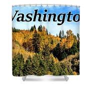 Randle Washington In Fall 02 Shower Curtain