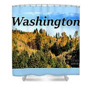 Randle Washington In Fall 02 Shower Curtain