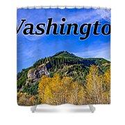 Randle Washington In Fall Shower Curtain