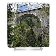 Ravenna Gorge Viaduct 05 Shower Curtain