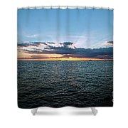 Rays Of Light Shower Curtain