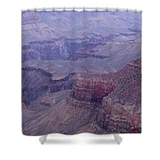 Re Hill Up Close Shower Curtain