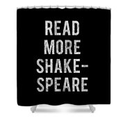 Read More Shakespeare Vintage Shower Curtain