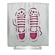 Ready Shower Curtain by Phyllis Howard
