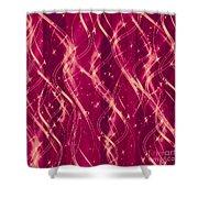 Red Berry Twist Shower Curtain