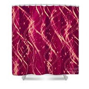 Red Berry Twist Shower Curtain