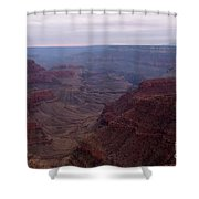Red Grand Canyon Shower Curtain