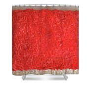 Red Pillow, Decorative. Ameynra Home Decor Shower Curtain