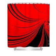 Red Sea. Shower Curtain