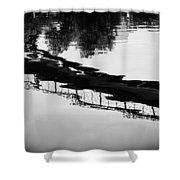 Reflected Bridge Shower Curtain