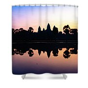 Reflections Of Angkor Wat - Siem Reap, Cambodia Shower Curtain