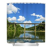 Reflections Of The Ozarks Shower Curtain