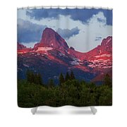 Reliving The Tetons Shower Curtain