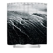Remains Of A Wave Shower Curtain