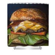 Renaissance Burger  Shower Curtain