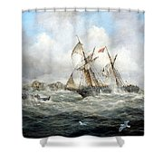 Rescue At Last Shower Curtain