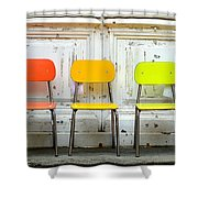 Restful Colours Shower Curtain