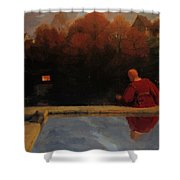 Returning Home 1887 Shower Curtain
