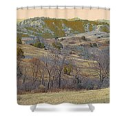 Reverie Of Dakota West Shower Curtain
