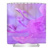 Rhododendron Macro Shower Curtain
