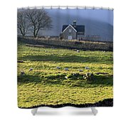 Ribblehead Station And Ingleborough North Yorkshire Shower Curtain