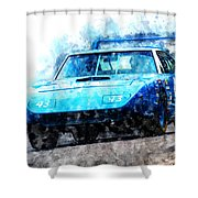 Richard Petty Superbird Shower Curtain