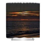 Rincon Island Shower Curtain