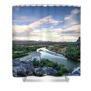 Rio Grand River Shower Curtain