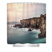 Rise Of The Infernal Shower Curtain
