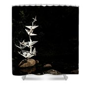 Rise Up And Fly Shower Curtain