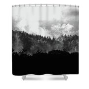 Rising Mist Shower Curtain