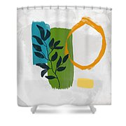 Rising With The Sun 1- Art By Linda Woods Shower Curtain