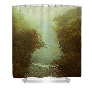 River In Fog Shower Curtain