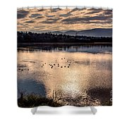 River Of Clouds Shower Curtain