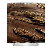 River Of Sand Shower Curtain
