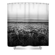 Rivers Flowing Into The Night Shower Curtain