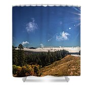 Road To Durango Shower Curtain