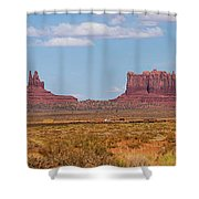 Roadside Scene Shower Curtain