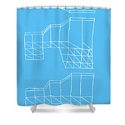 Robotricks Shower Curtain
