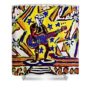 Rock And Roll Hall Dreams  Shower Curtain