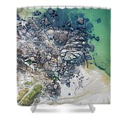 Rock Clusters Shower Curtain